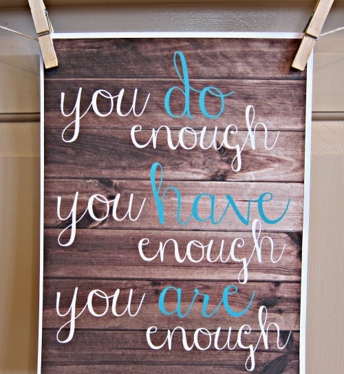 Homeschool Mom, You are Enough