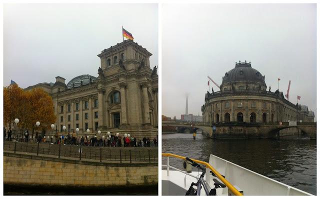 Cruzeiro pelo rio Spree, em Berlim