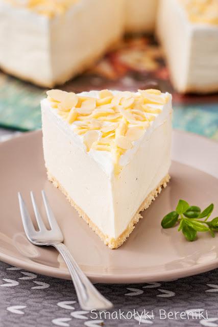 Sernik z lemon curd bez pieczenia