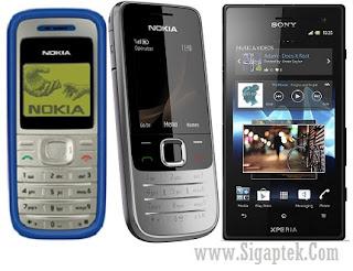 pengertian smart phone, apa itu feature phone, ponsel jadul buat sms dan telepon saja, jenis smartphone