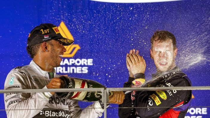 Formel 1 - Rosberg failure Grand Prix Singapore