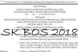 Download SK BOS dan SK Komite 2019 Ternaru