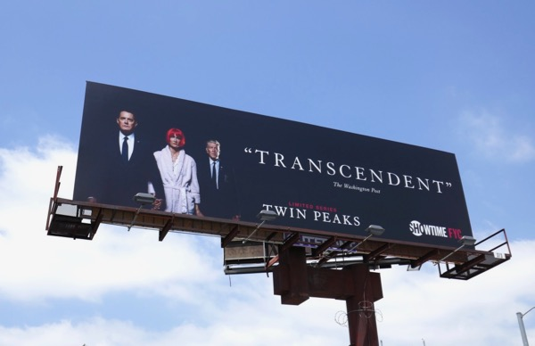 Twin Peaks 2018 Emmy consideration billboard