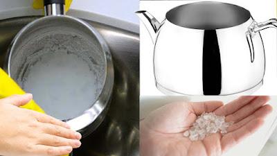 çaydanlıktan kireç çıkarma,kireç nasıl sökülür