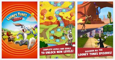 Free download Looney Tunes Dash Mod v1.87.07 Apk Free Shooping