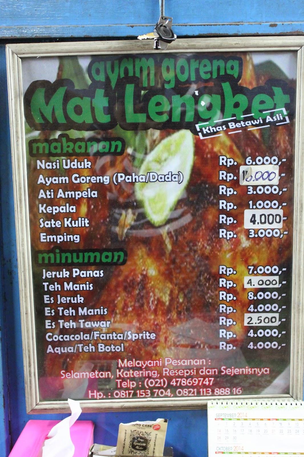 Ayam Goreng Mat Lengket : goreng, lengket, Still, Hungry:, Goreng, Lengket, Jakarta