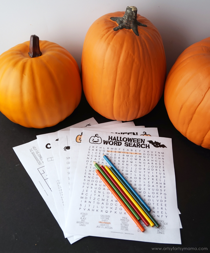 Free Printable Halloween Activity Pack