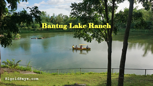 Bantug Lake Ranch - Bacolod attractions - boating
