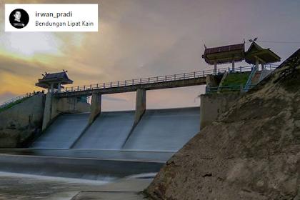 Wisata Bendungan Sungai Paku Lipat Kain Kampar Riau