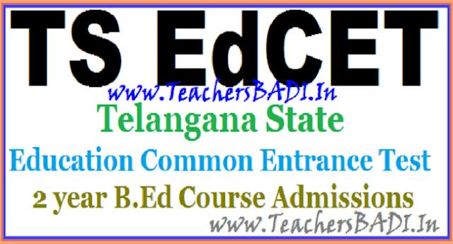 TS Ed.CET 2018,EdCET Schedule,Telangaana EdCET 2018