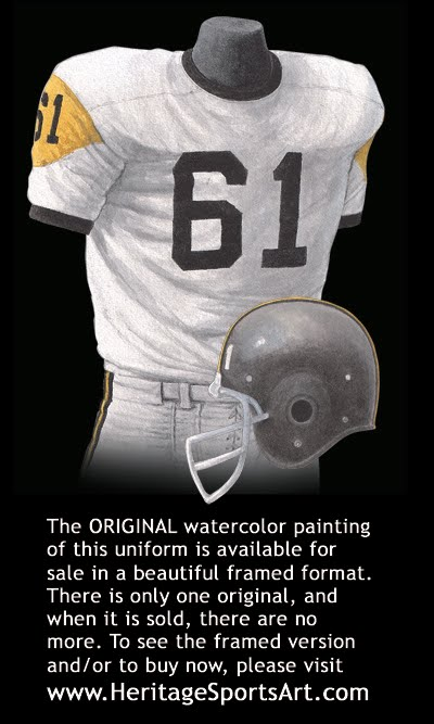 sports shoes 96b39 2820e Pittsburgh Steelers Uniform and Team History | Heritage ...