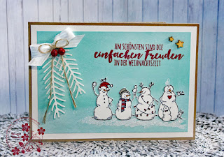 Stampin Up, Advent, Stampin-Friends