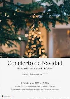 Concierto de Navidad de la Banda de Música de El Espinar