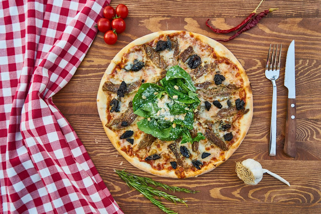 Pizza Done the Healthy Way