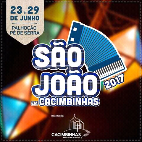 Festejos juninos em Cacimbinhas começa amanhã veja a programação.