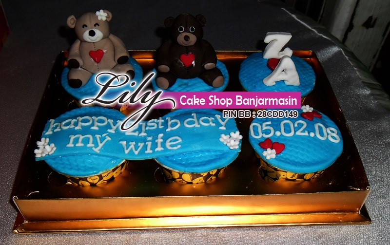 Lily Cake Shop Banjarmasin Cup Cake Isi 6