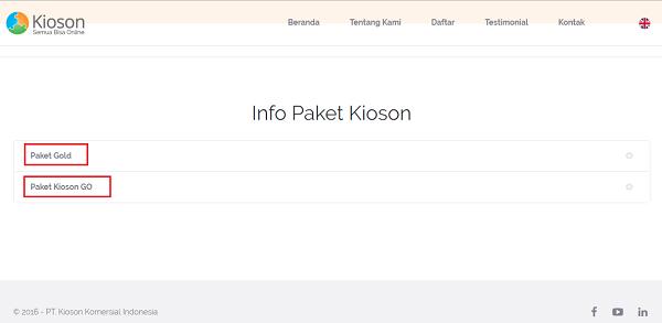 Info Paket Kioson - Blog Mas Hendra