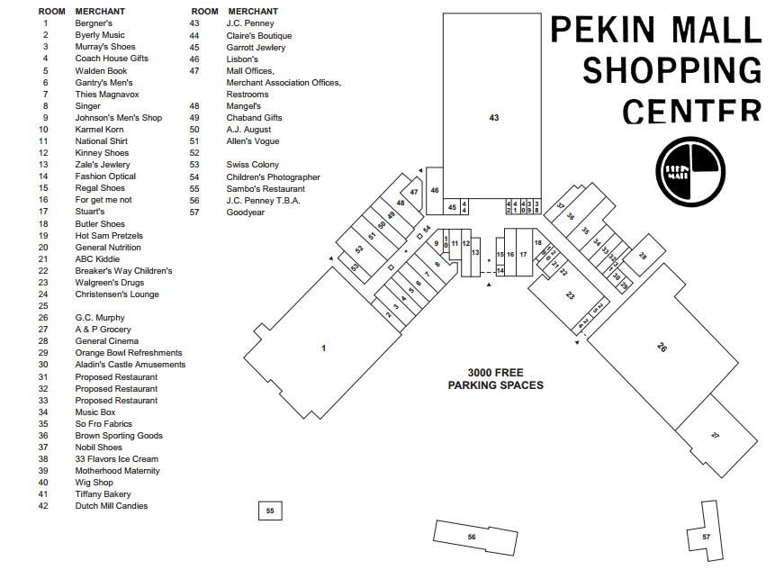 Trip to the Mall: Pekin Mall- (Pekin, IL)