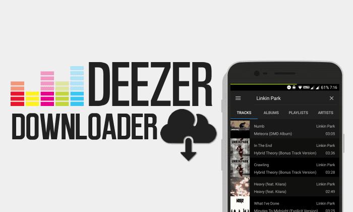 """Résultat de recherche d'images pour """"deezloader android"""""""