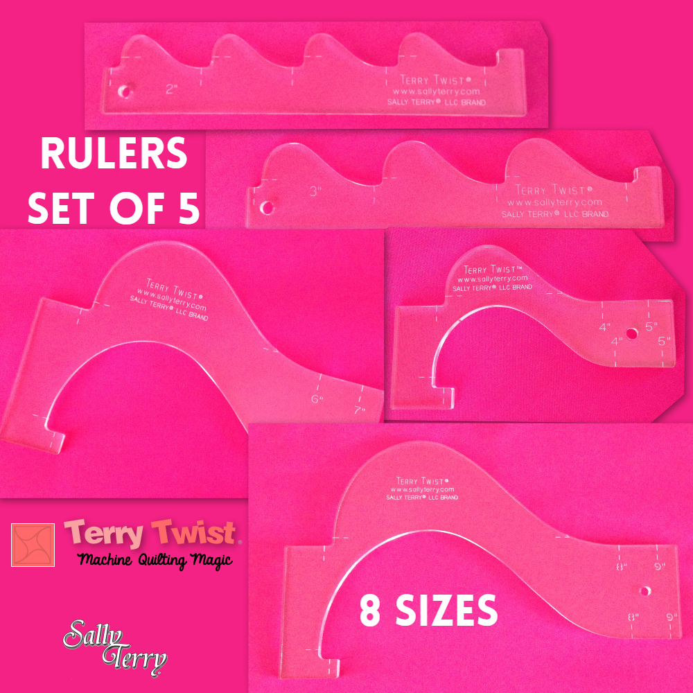 quilters rulers and templates - machine quilting patterns