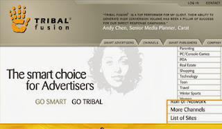 tribal fusion  CPM ad network