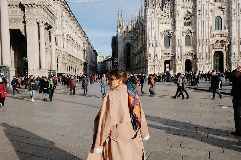 стиль в Милане