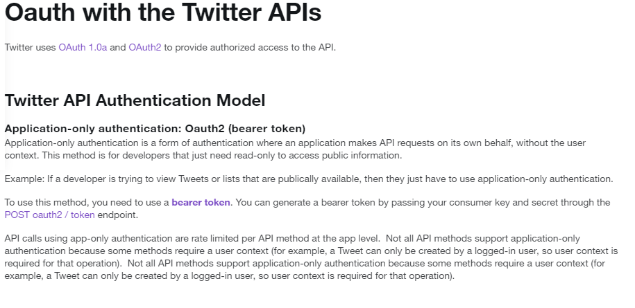Twitter Oauth Authentication for API Testing Using Rest
