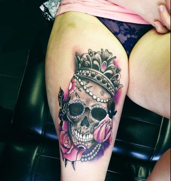 20 Queen On Throne Tattoos Ideas And Designs