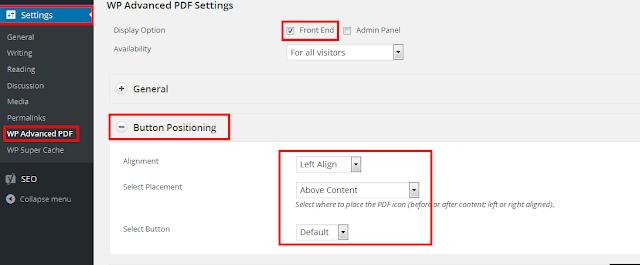 add PDF files in WordPress
