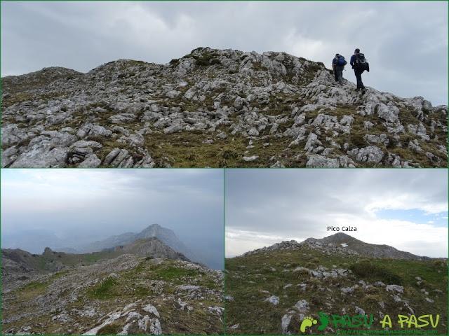 Les Bobies - Gamonal: Tramo al Pico Calza