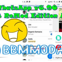 WhatsApp Mod YOWhatsApp v6.90 IOS ReMod Edition APK