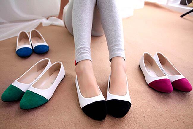 Memilih Sepatu Flat Model Teplek