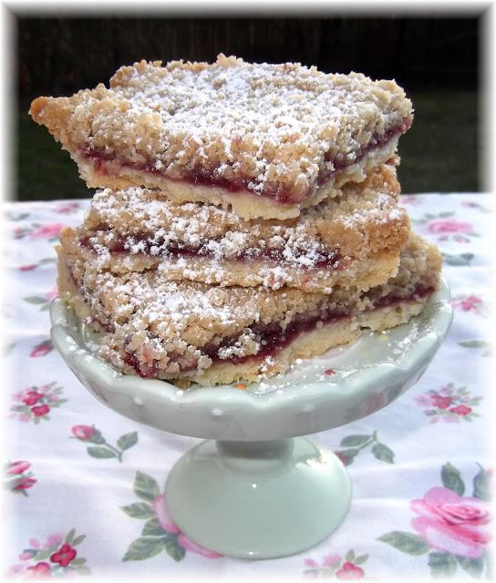 Rosie's Country Baking: Raspberry Crumb Bars