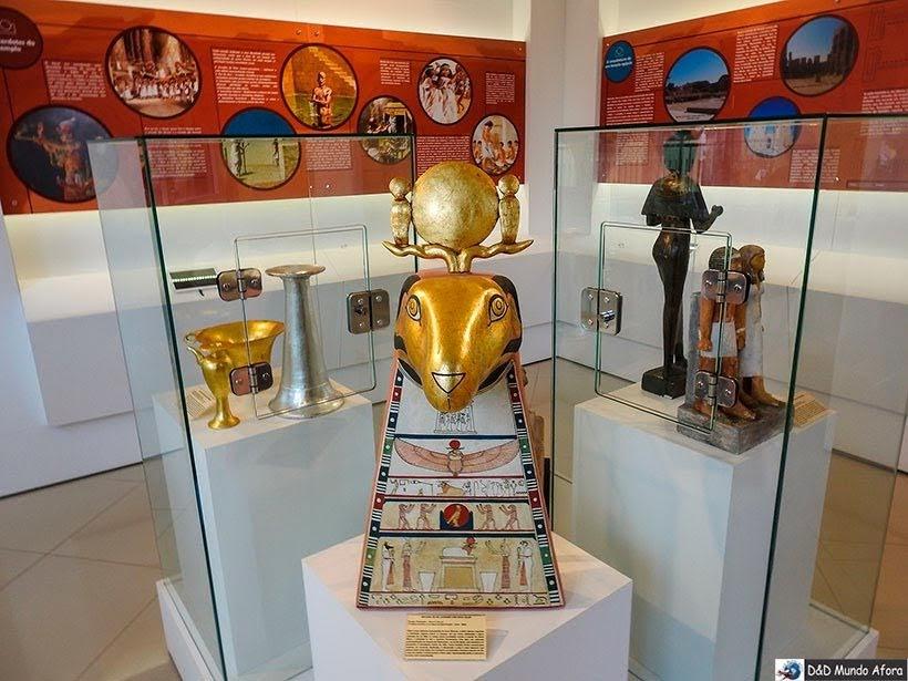 Acervo do Museu Egípcio em Curitiba, Paraná: como visitar