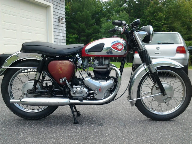 BSA Road Rocket 650 Exhaust Sound