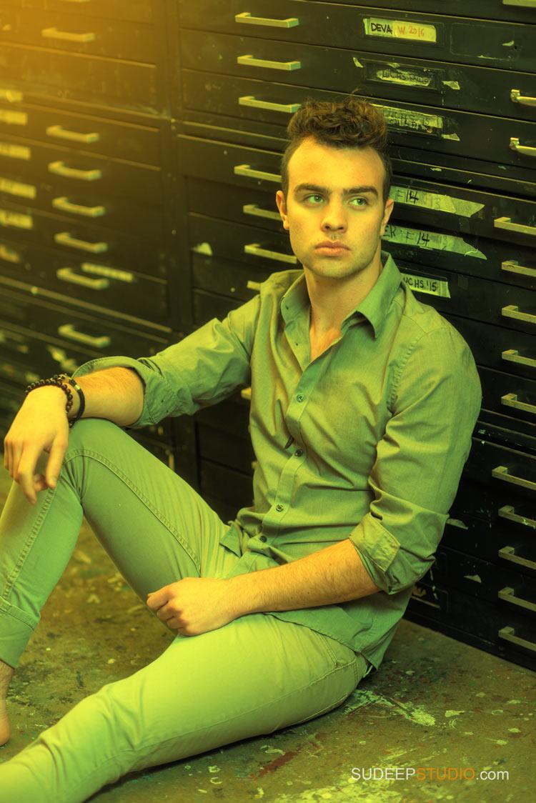 Male Model Headhots, Portfolio and Comp Cards Photography - Sudeep Studio.com