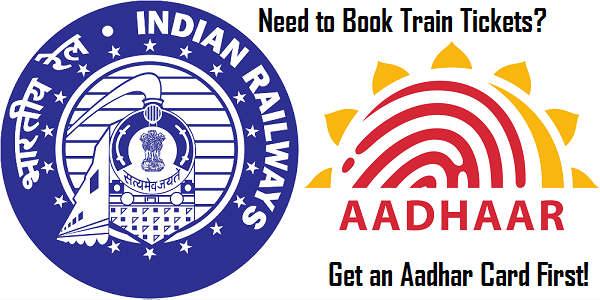 दिसंबर से ट्रेन की बुकिंग के लिए जरूरी होगा आधार कार्ड!