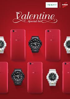 Oppo จับมือ G-SHOCK ส่ง OPPO X G-SHOCK Valentine Special Set ต้อนรับเทศกาลแห่งความรัก