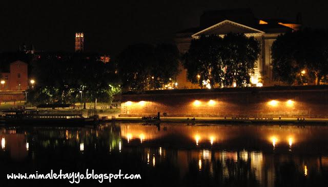Toulouse de noche