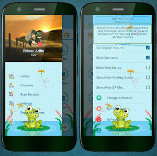 BBM MOD FROGY v3.2.0.6 ORIGINAL THEMA (MUMUKU MAY)