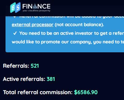 Оборот структуры BSFinance