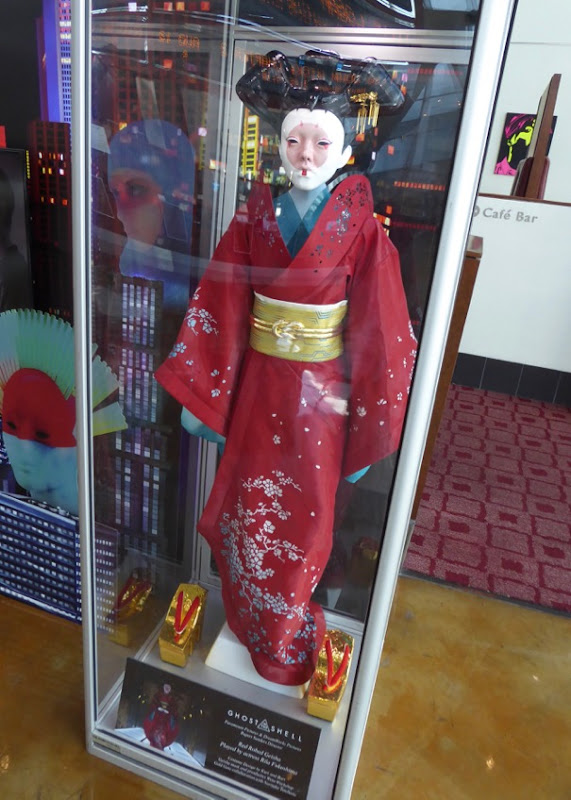 Red Robed Geisha film costume Ghost in the Shell