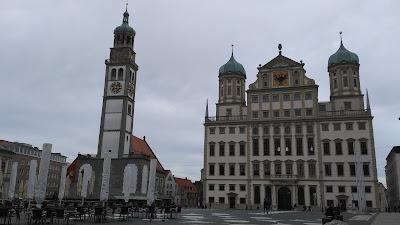 plaza ayuntamiento augsburgo