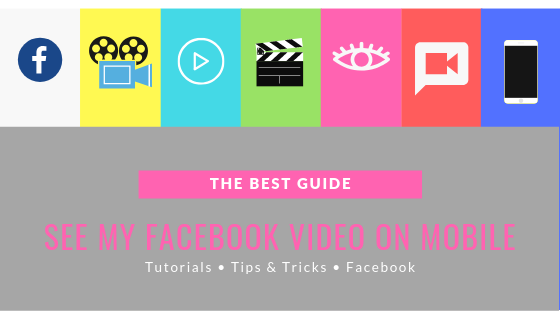 How To See Videos On Mobile Facebook<br/>