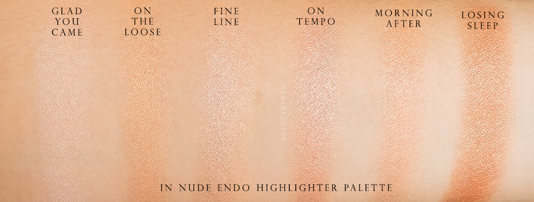 Colourpop In-Nude-Endo Highlight Palette Review and Swatches