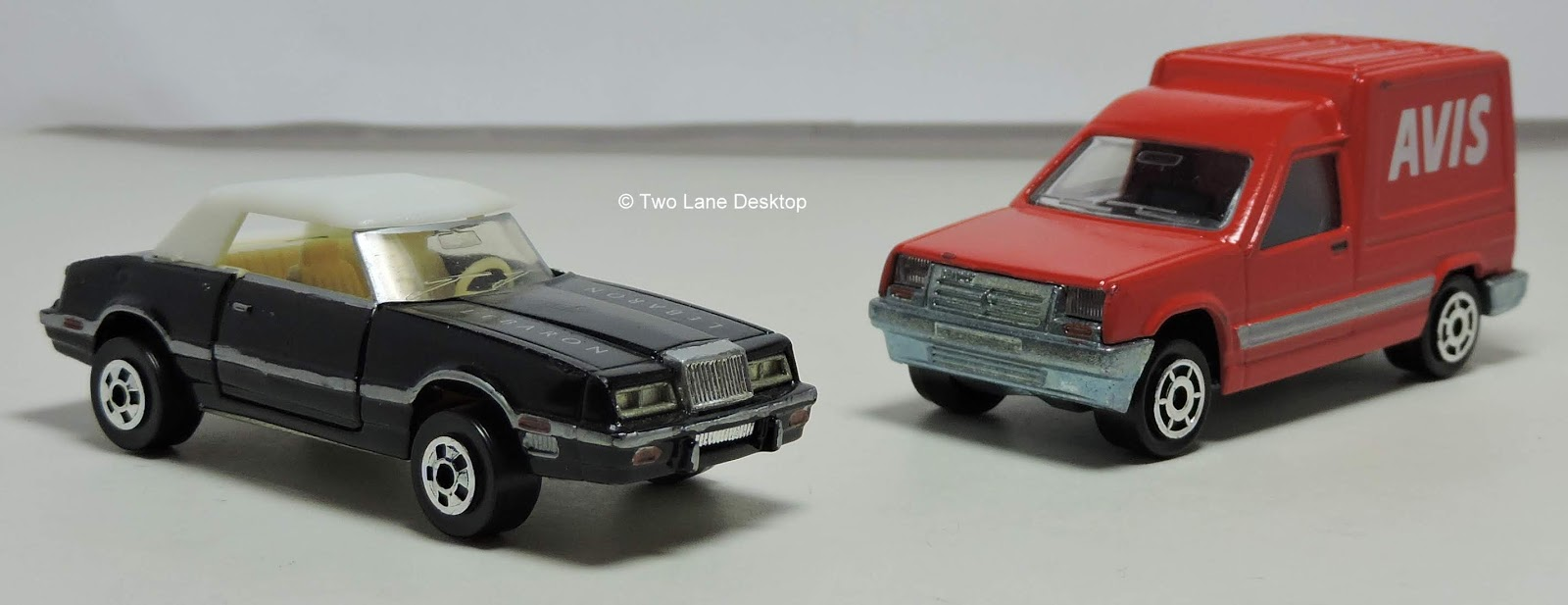 Majorette Renault Express and Road Champs Chrysler Lebaron ...