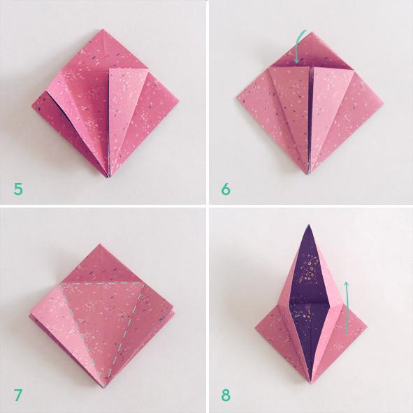 C mo plegar una grulla en origami - Origami para todos ...