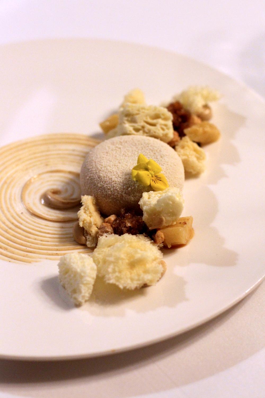 Chocolate dessert at Rushton Hall, Northamptonshire - UK luxury travel blog