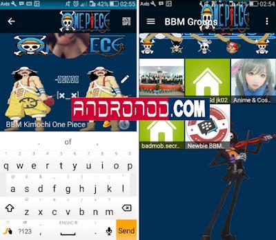 BBM Mod Kimochi One Piece v3.0.1.25 Apk Terbaru