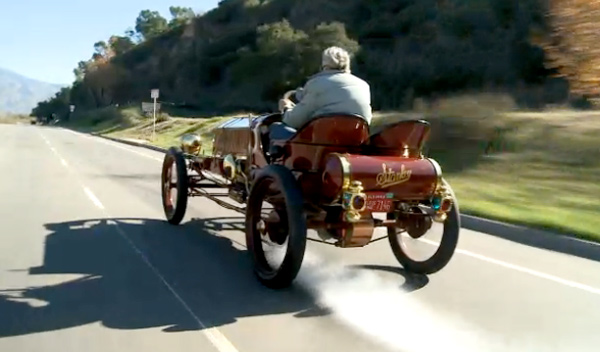 Stanley Steamer Car >> Jay Leno and 1906 Stanley Steamer car Nbc video - Garage Car